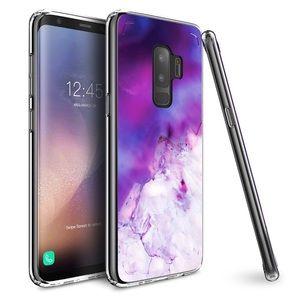 Accessories - Galaxy S9 Case Marble Gel TPU Bumper Hard Back